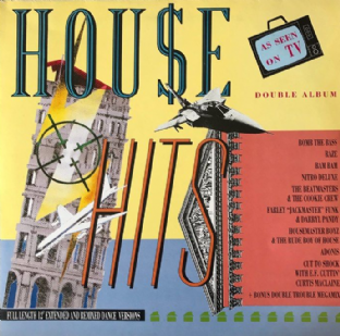 V/A - House Hits (LP) (G+/VG)